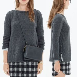 ⭐️ Madewell ⭐️ Pinewood Pullover Sweater in Gray
